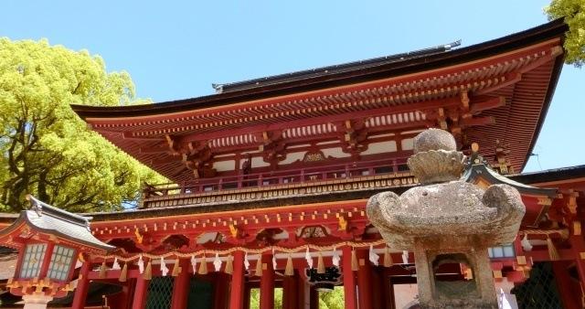 九州地方の観光地「太宰府天満宮」イメージ画像