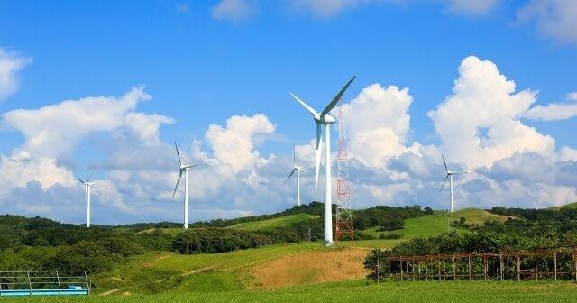 北海道の風力発電所イメージ画像