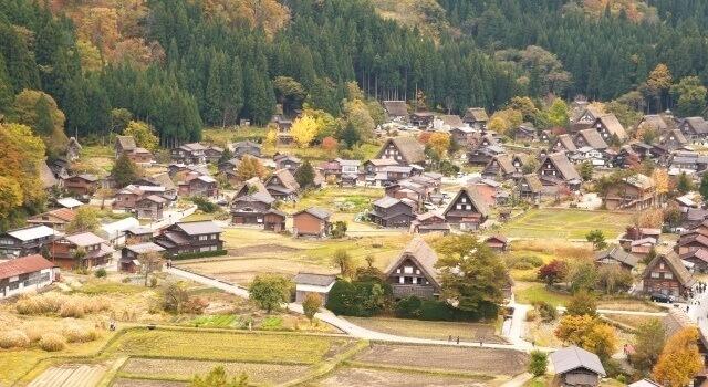 岐阜県白川郷のイメージ画像