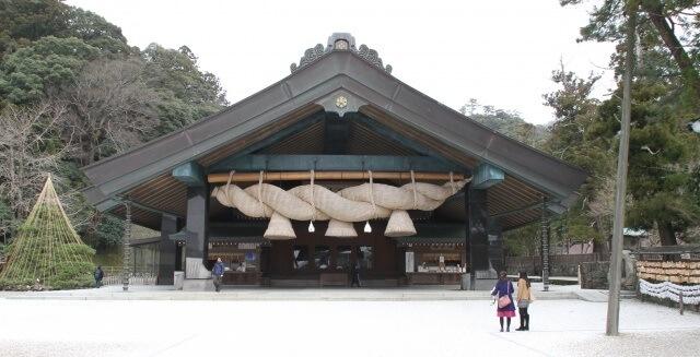 中国地方の観光地「島根県の出雲大社」イメージ画像