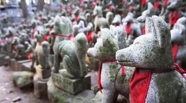 中部地方の観光イメージ画像「愛知県の豊川稲荷」