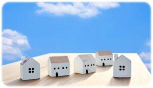 青空と家のイメージ
